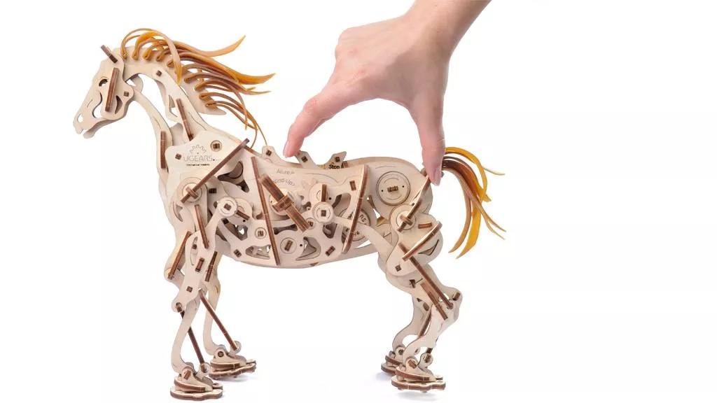 Kajoca Giochi Faenza Ugears cavallo meccanico