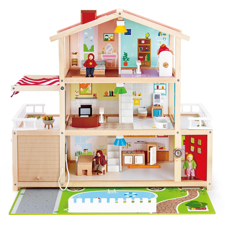 Kajoca Giochi casa villa delle bambole legno hape